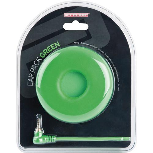 Reloop Ear Pack Green Replacement Helix Cord And Earcup Pair - Red One Music