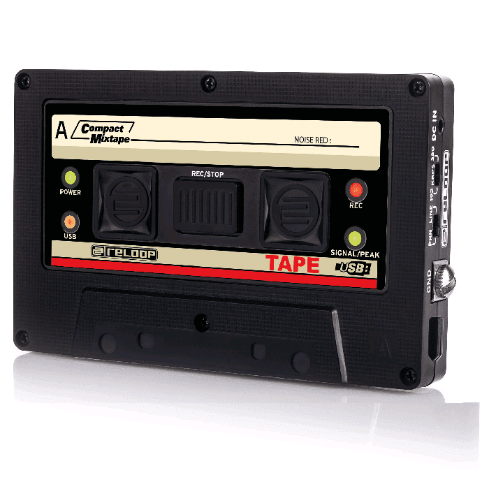 Reloop TAPE USB Mixtape Recorder - Red One Music