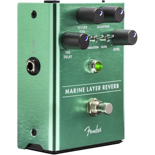 Fender 0234532000 Marine Layer Reverb Pedal - Red One Music