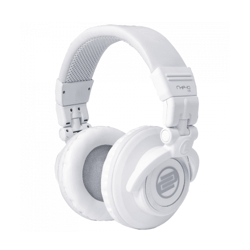 RELOOP RHP-10 WHITE LIMITED EDITION PROFESSIONAL DJ HEADPHONES