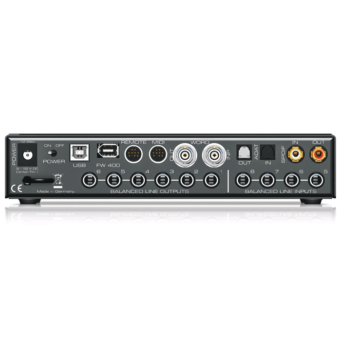 RME FIREFACE UCX 36-Channel Hybrid Usb 20Usb Audio Interface With Onboard Dsp - Red One Music