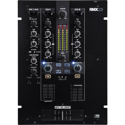 Reloop RMX-22I Table de mixage DJ 2 canaux - Red One Music