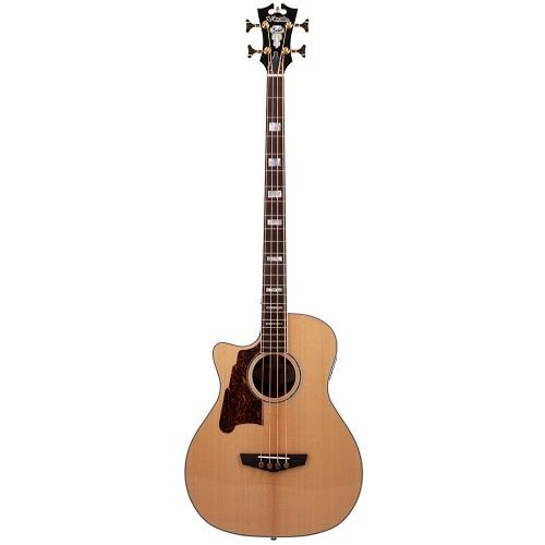 D'Angelico Daeb700Nacgpl Left-Handed Natural Acoustic Bass
