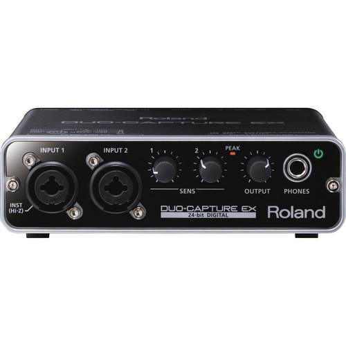 Roland UA-22 Duo-Capture Ex - USB Interface - Red One Music