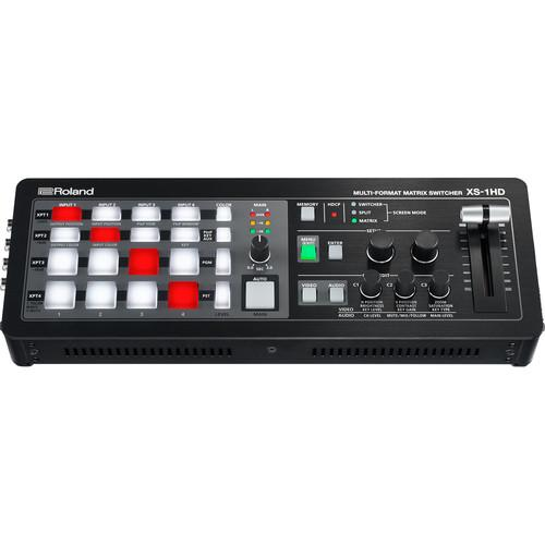 Roland XS-1HD Multi-Format Matrix Switcher 4x4 HDMI, 3 Modes - Red One Music