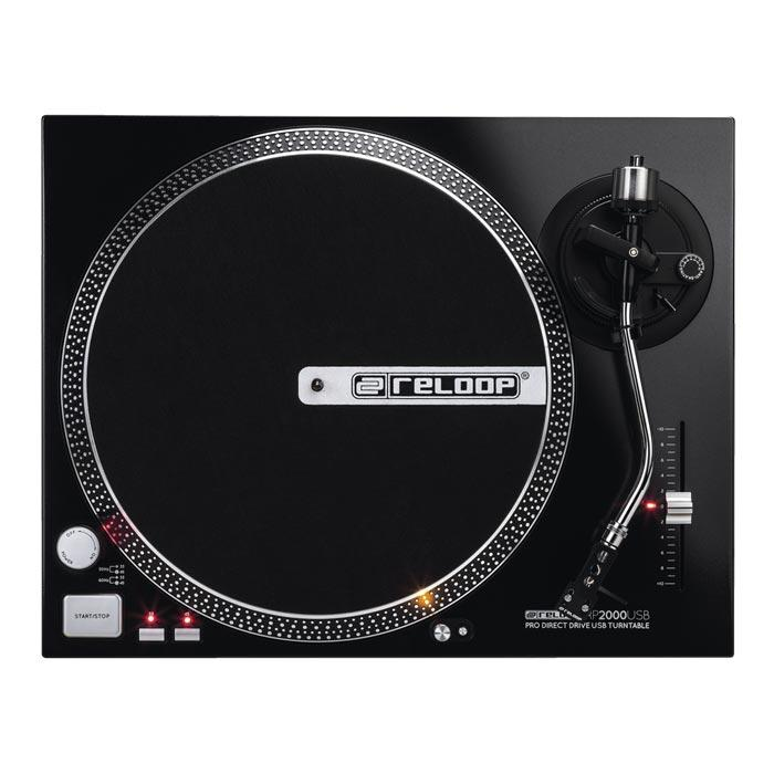 Reloop RP-2000-USB Turntable - Red One Music