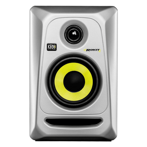 Krk Rokit Rp4 G3 Silver Each Powered 2-Way Active Monitor