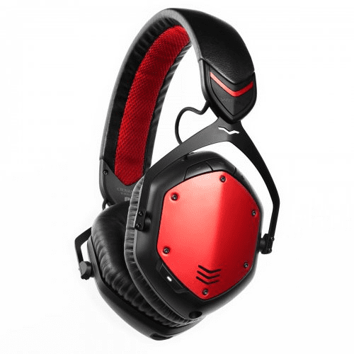 V-Moda Xfbt Crossfade Rouge Casque sans fil Bluetooth Over-Ear