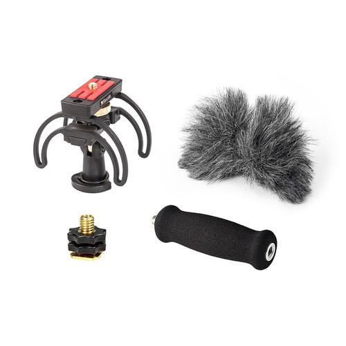 Rycote 046009 Portable Recorder Audio Kit For Tascam Dr-05 - Red One Music