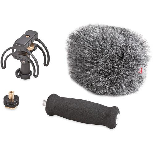 Rycote 046015 Portable Recorder Audio Kit For Tascam Dr-40 - Red One Music