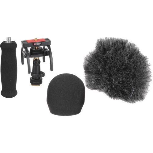 Rycote 046016 Portable Recorder Audio Kit For Zoom H2N - Red One Music