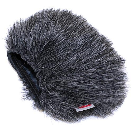 Rycote 055410 Mini Windjammer With Foam Windscreen For Zoom H1 - Red One Music