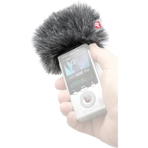 Rycote 055416 Mini Windjammer For Zoom Q3Hd - Red One Music