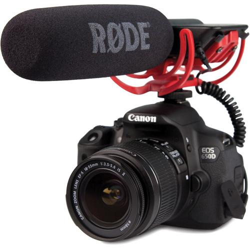 Rode Videomic Rycote Videomic With Rycote Lyre Suspension System - Red One Music