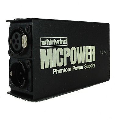Whirlwind Micpower Alimentation fantôme - Red One Music