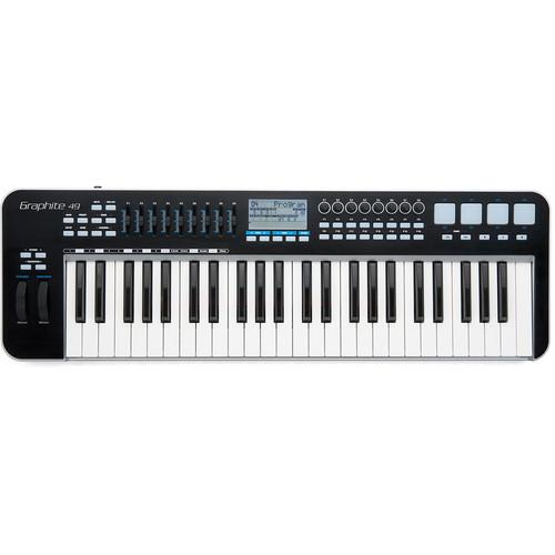 Samson Kgr49 Graphite 49 - Usbmidi Keyboard Controller - Red One Music
