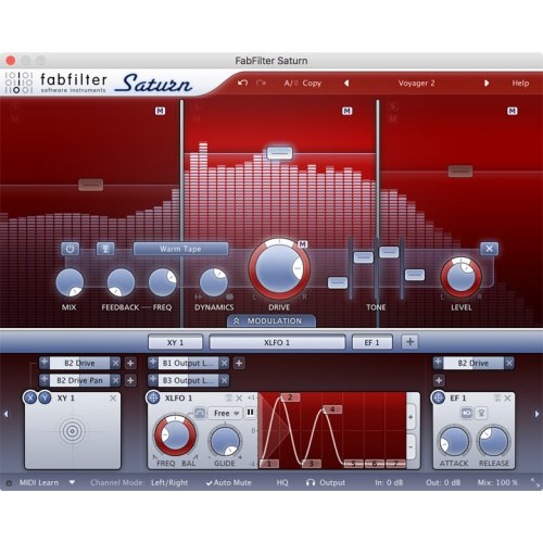 Fabfilter Saturn Distortion & Saturation Plug-In (Download) - Red One Music