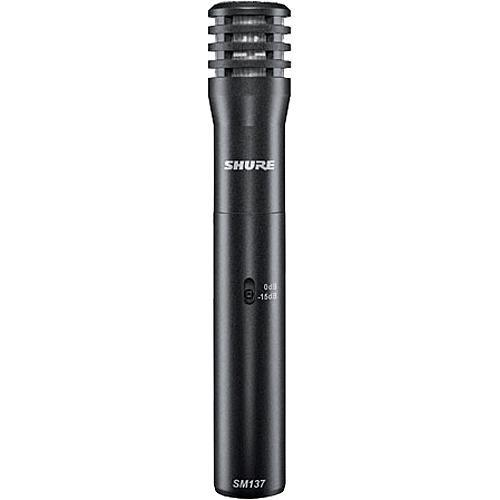 Shure Sm137-Lc Live Instrument Microphone - Red One Music