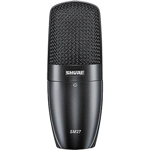 Shure Sm27-Sc Large Diaphragm Wired Microphone - Red One Music