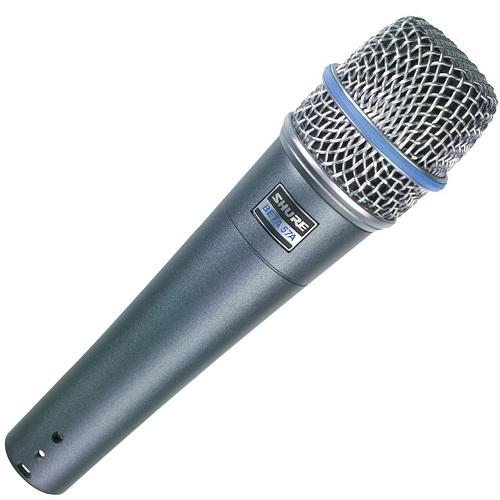 Shure BETA 57A Microphone pour Instruments et Voix - Red One Music