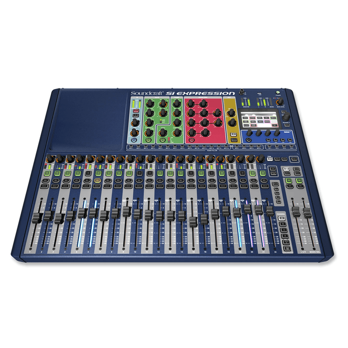 Soundcraft SI Expression 2 Powerful Digital Console - Red One Music