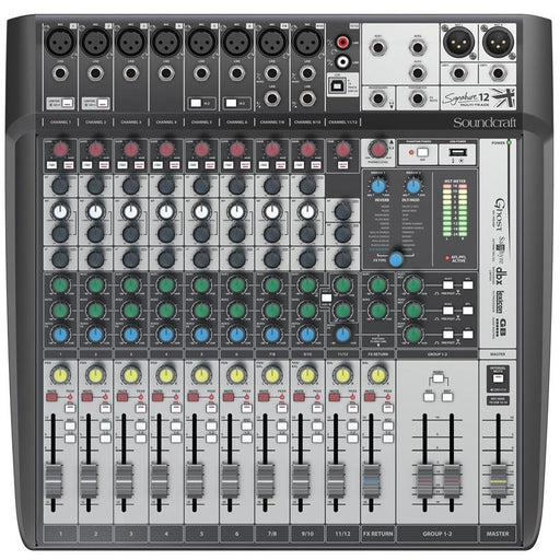 SOUNDCRAFT SIGNATURE 12 MTK SOUNDCRAFT SIGNATURE 12MTK MIXER W USB