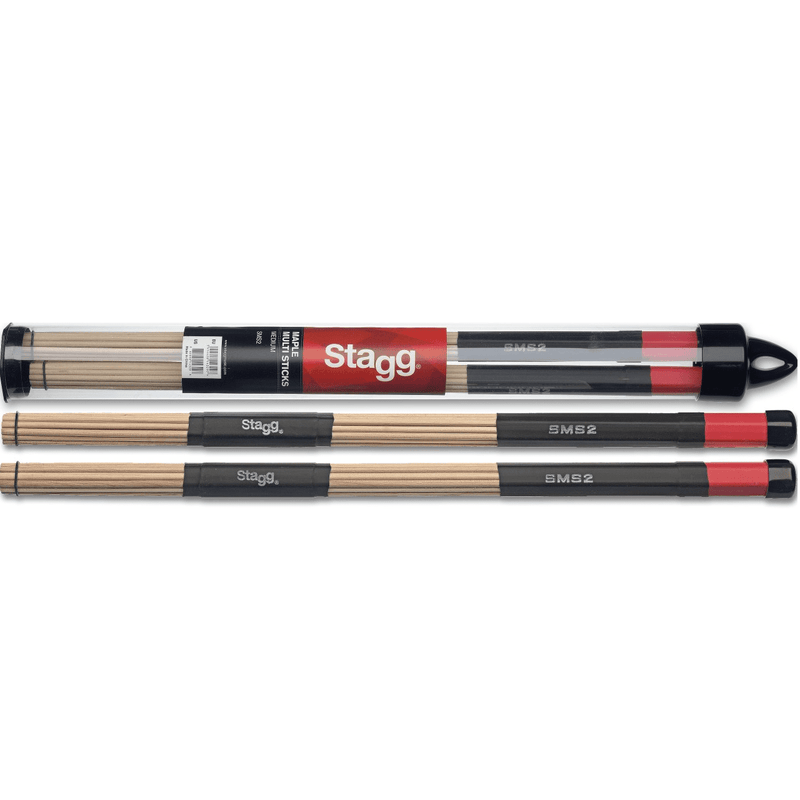 Stagg Sms2 Maple Multi-Sticks - Red One Music