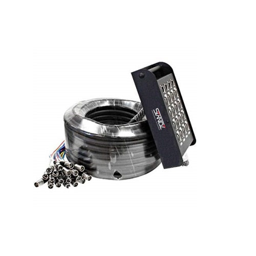 Standz STSNK16/4/50 - 16 Channel 4 Outs 50 Feet XLR Pro Snake Cable