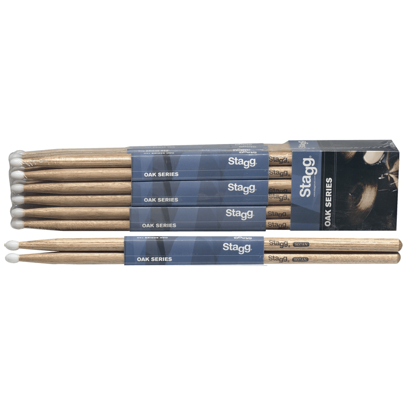 Stagg So7An Drum Sticks - Red One Music