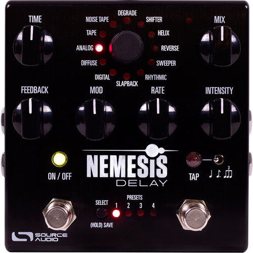 Source Audio SA260 One Series Nemesis Delay Pedal - Red One Music