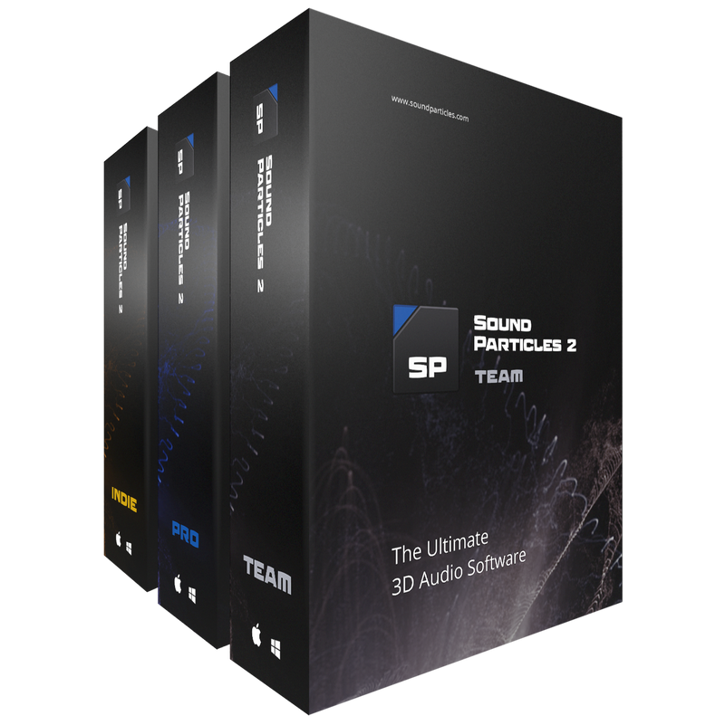 Sound Particles - Sound Particles The Ultimate 3D Audio Software - 18-Month Team Licence (Download)