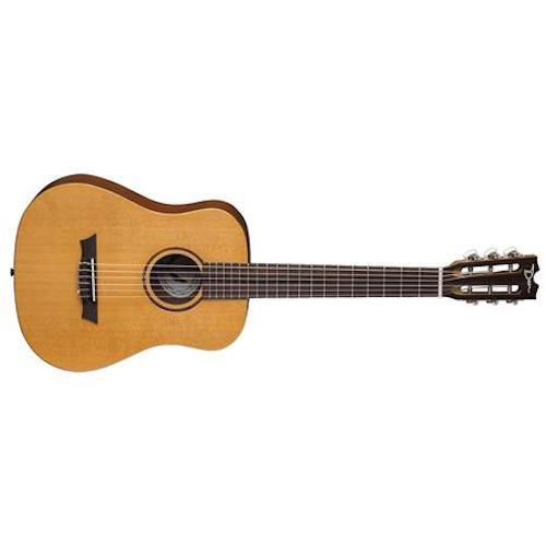 Dean Fly Nyl Spr Flight Spruce Nylon Travel Guitar W/Gigbag