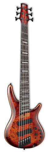 IBANEZ SRMS806-BTT 6 STRINGS BROWN TOPAZ BURST BASS