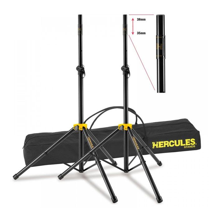 Hercules Ss200Bb Stage Series Speaker Stand - Red One Music