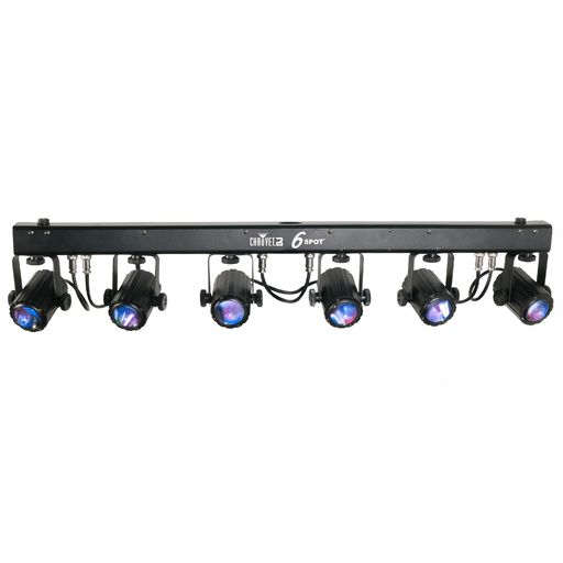 Chauvet 6Spot Led Effect Light Of Beams Using 4 Heads