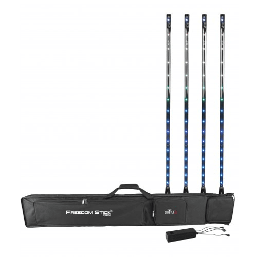 Chauvet Freedom Stick Pack Unique And Versatile Free-Standing Led Array That Adds Pizazz To Any Event