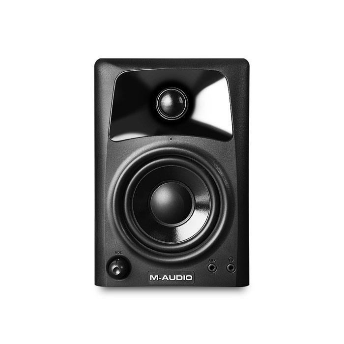 M-Audio STUDIOPHILE Av42 Pair Desktop Monitor Speakers - Red One Music