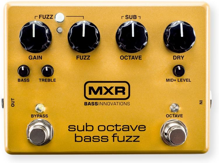 Mxr M287 Sub Octave Bass Fuzz Effects Pedal
