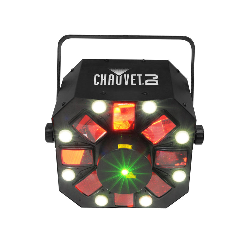 Chauvet Swarm 5 Fx Multi-Colored Effects That Create Overlapping Rings Of Light - Red One Music