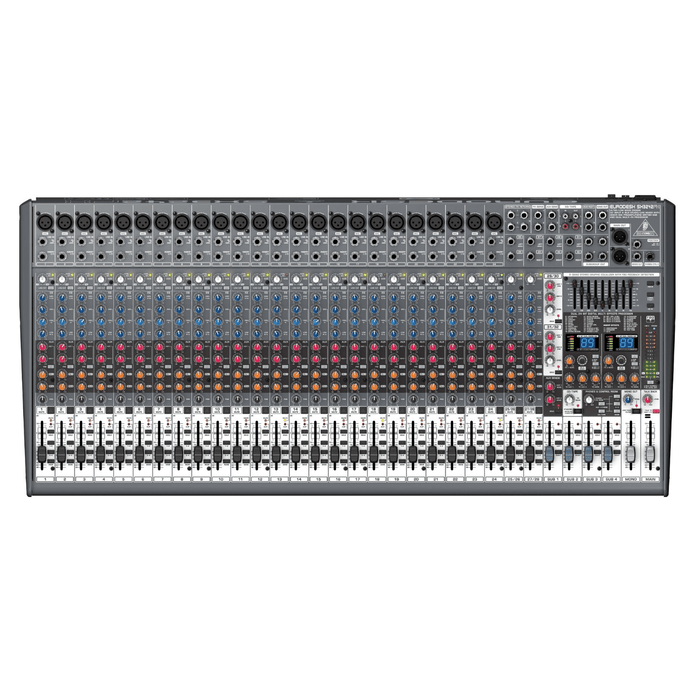 Behringer Sx3242Fx Ultra-Low Noise Design 32-Input 4-Bus Studiolive Mixer - Red One Music