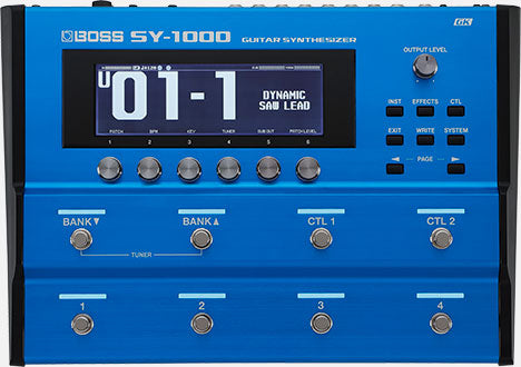 BOSS SY-1000 Guitar Synthesizer - Red One Music