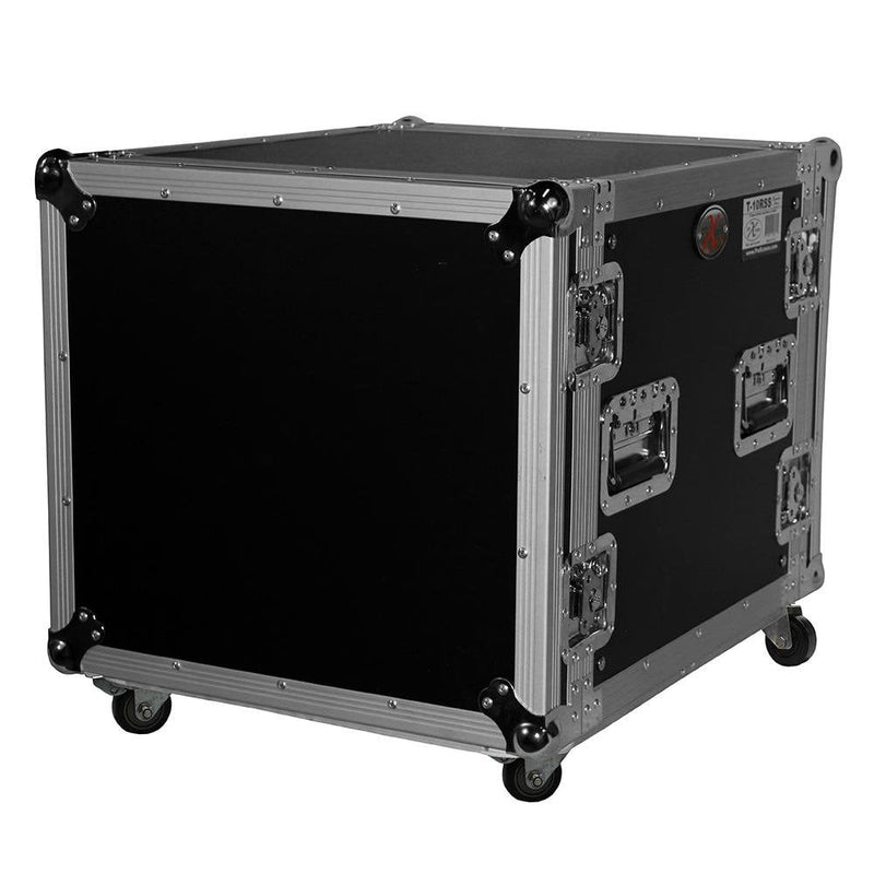 Prox T-10RSS 10U Rack Case 19In Deep W Casters - Red One Music