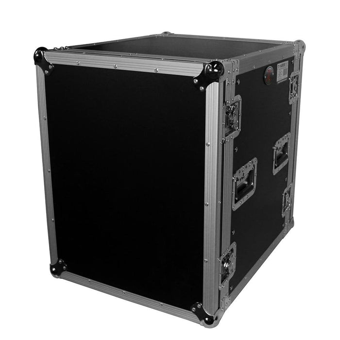 Prox T14Rss 14U Rack Case 19In Deep W Casters - Red One Music