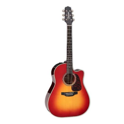 Takamine Cp6Ssdc Round Shoulder Ca Pro-Series 6 - Red One Music