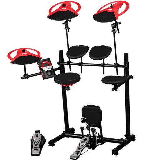 DDrum DD BETA XP Electronic 5-Piece Drum Set - Red One Music