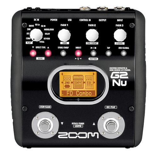 Zoom G2Nu Interface Multi-Effets pour Pedalusb