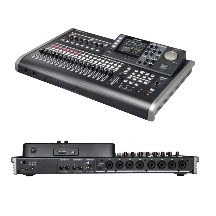 Tascam DP-24SD Digital Studio Mixer - Red One Music
