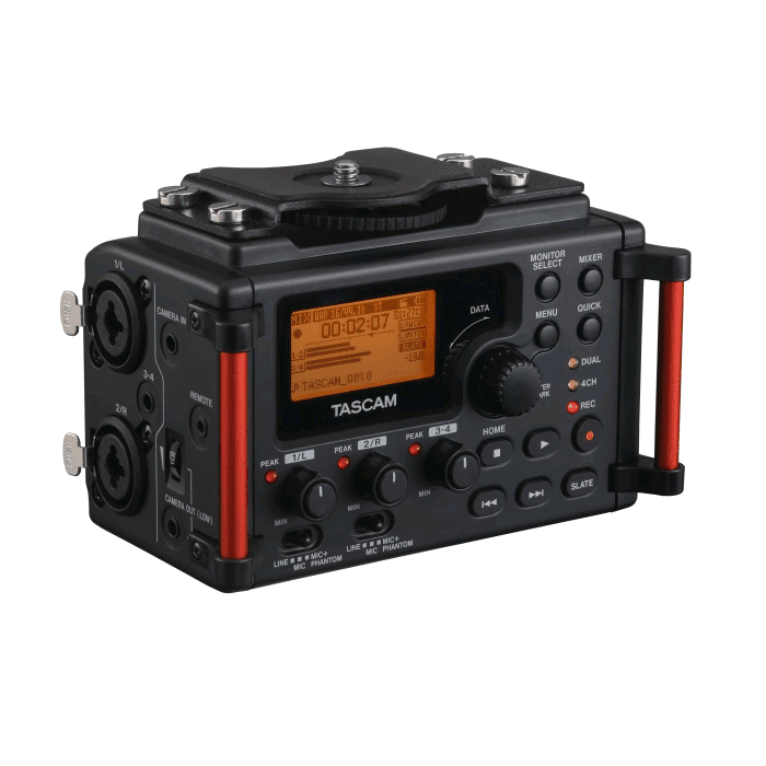 Tascam DR-60DMK2 The Only Portable Recorder Designed For Dslr Filmmakers - Red One Music