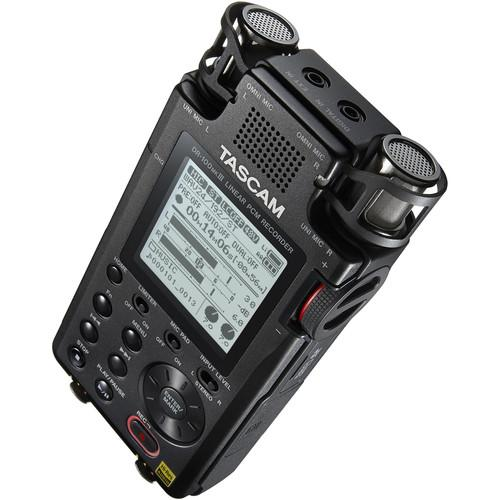 Tascam DR-100MKiii  Handheld Digital Stereo Recorder - Red One Music