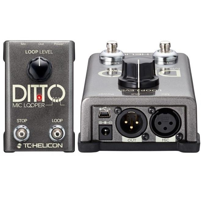 Tc-Helicon Ditto Microphone Looper - Red One Music